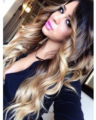 #hair #weaves love the colour #ombre hair I LOOOOOVE ITTTT BESTIIIIIIIIIIIIIEEEEEEEE