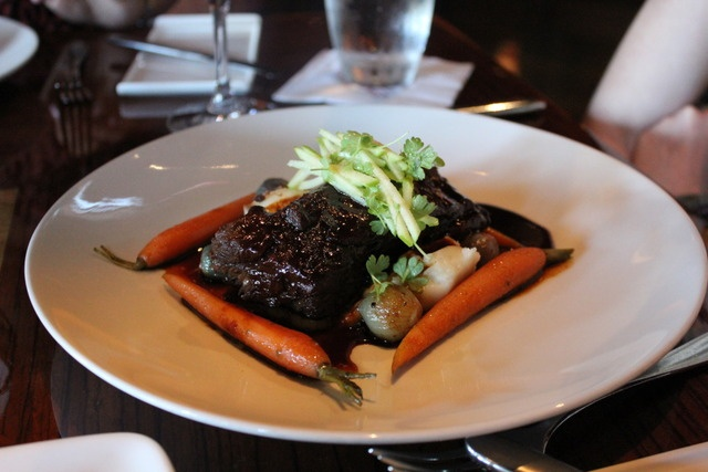 Braised Beef Short Ribs - Butter-whipped Potatoes, Pearl Onions, Baby ...
