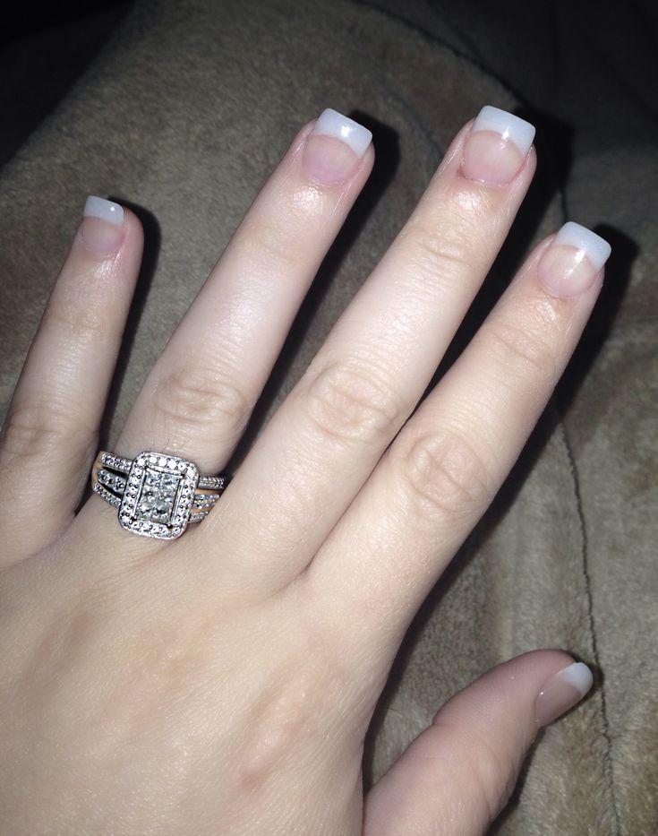 natural looking acrylic nails nails 101 pinterest