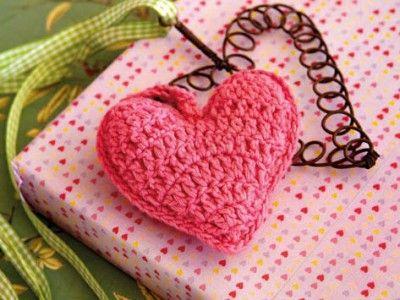 Crochet a heart - Ideas