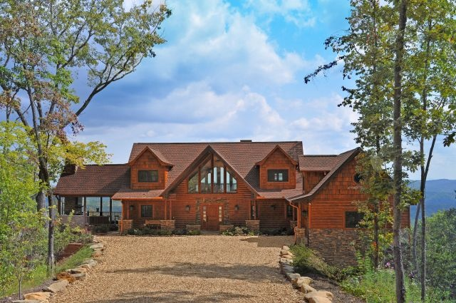 Mountain Cabin House Pinterest