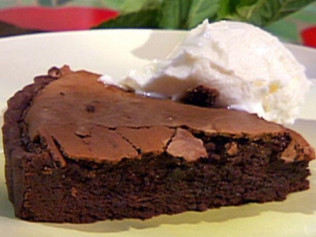 Bittersweet Chocolate Tart with Coconut Ice Cream | Recipe