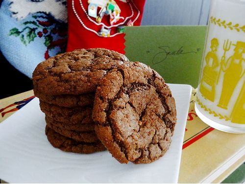 Gluten-Free Ginger Molasses Ice Cream Sandwich Cookies