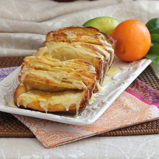 Citrus Pull-Apart Bread was a delicious addition to our Easter Brunch