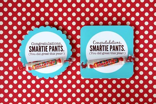 "Congratulations ""Smartie Pants"""