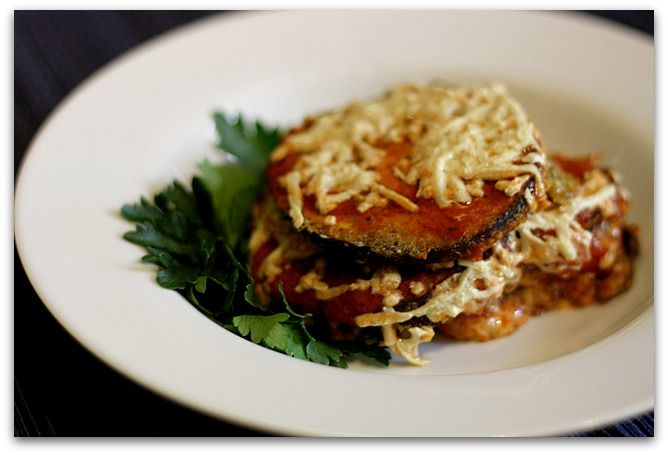 Gluten free, vegan eggplant parm. | Meat Free Zone - Clean Eats | Pin ...