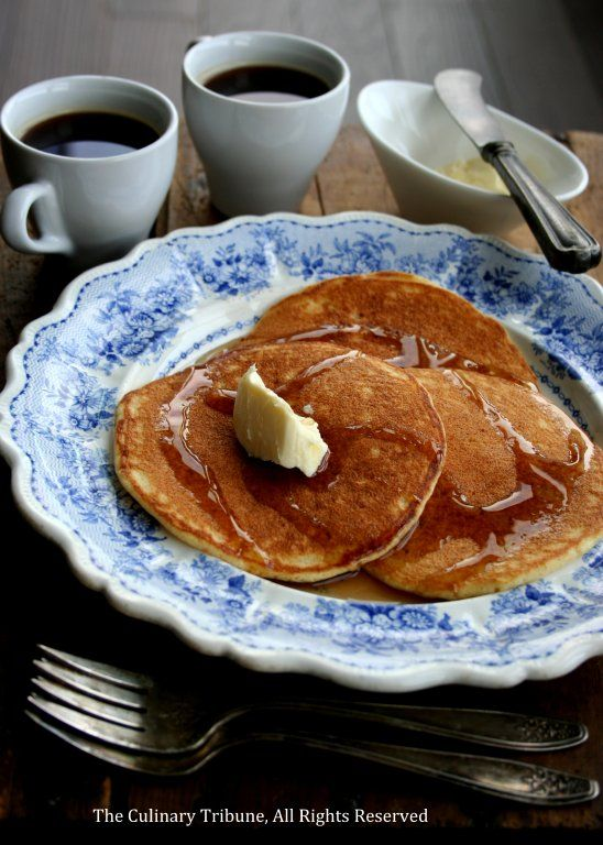 Orange Ricotta Pancakes | Culinary Tribune | Pinterest