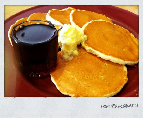 Mini Pancakes | Random stuff :) | Pinterest