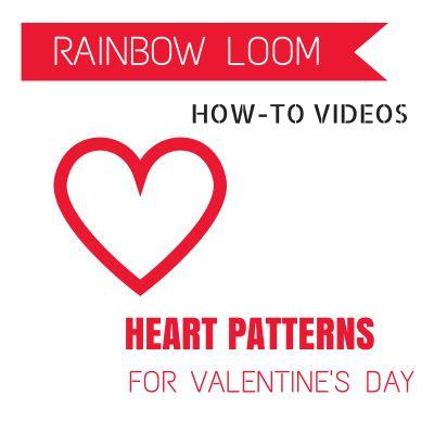 valentine heart loom