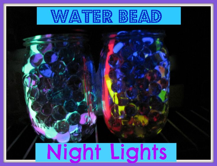 Water Bead Night Lights