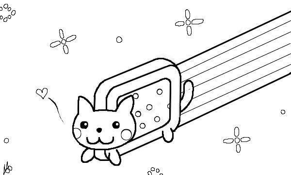 Pusheen The Cat Coloring Pages