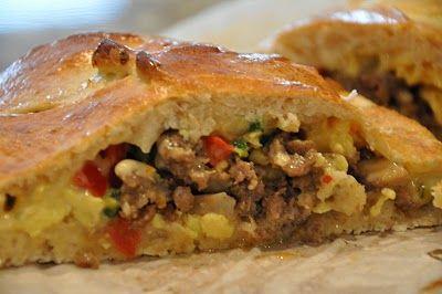 Jalapeno Egg Sausage Braid | I Love Breakfast Food! | Pinterest