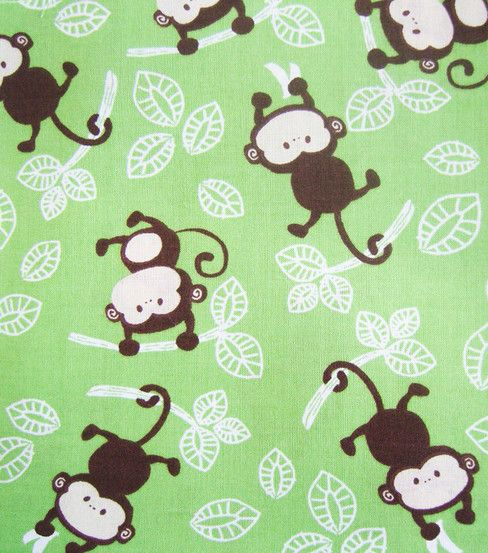 Pinterest discover and save creative ideas for Baby monkey fabric prints
