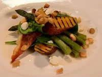 Chargrilled vegetable salad with macadamia nut dressing | Recipe