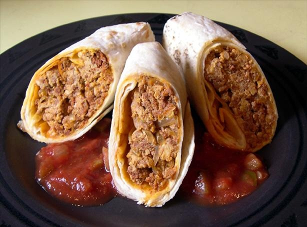 Chorizo and Egg Burritos | Recipe