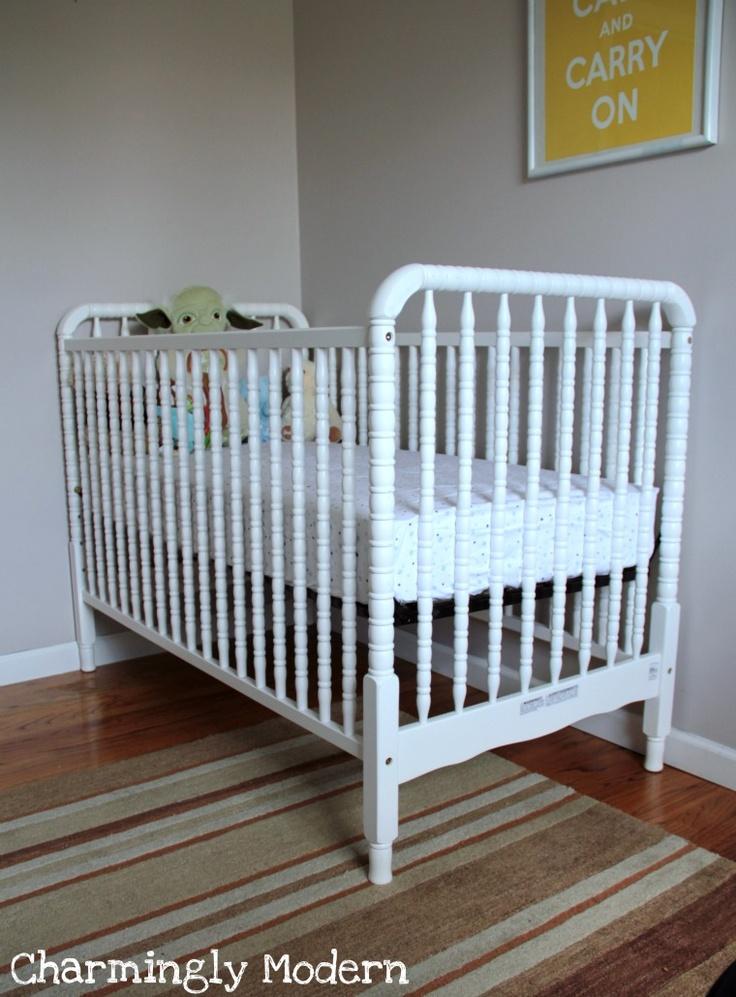 Jenny Lind Davinci Crib In White Baby Eleanor S Room