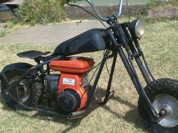 Mini Bike Junkyard : Springer front end pictures to pin on pinterest tattooskid