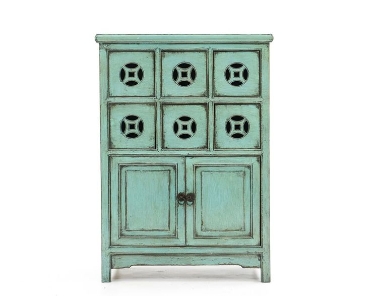 Blue lacquer Chinese cabinet  The Great Escape  Pinterest