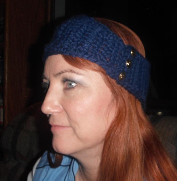 Crochet Hair Band Youtube : crochet head band Crochet Pinterest
