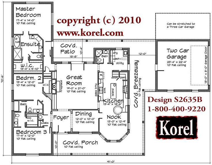 House plans by korel home designs for House plans by korel home designs