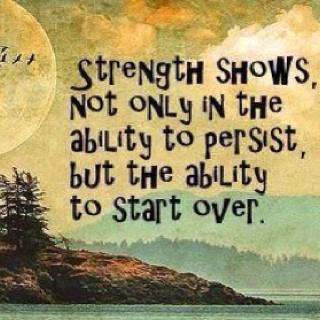 Strength shows