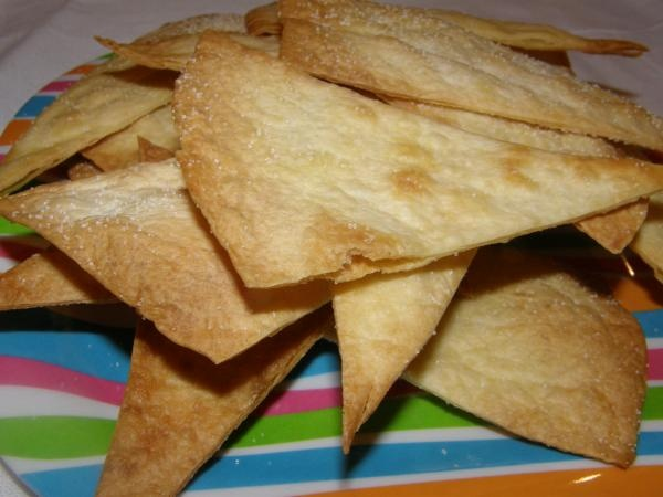 Easy Homemade Tortilla Chips Recipe -baked