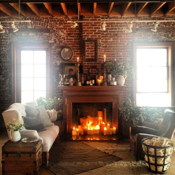 Fireplace seating area at wedding rustic wedding pinterest