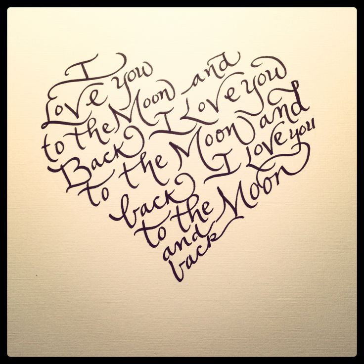 love by the calligraphy girl art pinterest