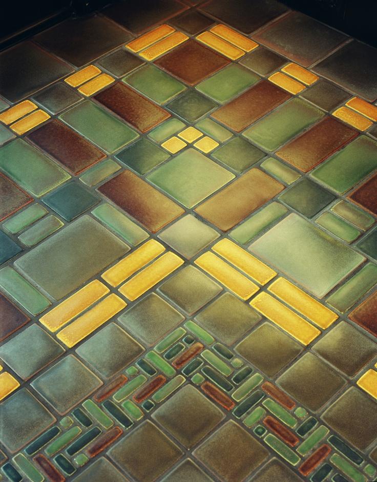 Sunroom Floor By Motawi Tileworks For The Home Pinterest