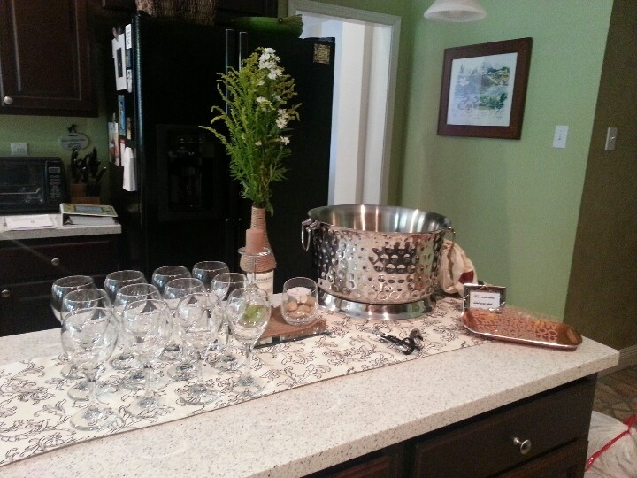 This Month's Social Hour: White Wine Tasting Party!