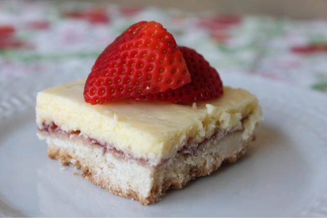 Strawberry-Lemon Shortbread Bars | Brownies & Bars | Pinterest