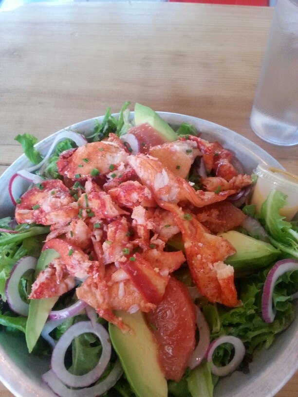 Lobster Salad | Eat to Live | Pinterest