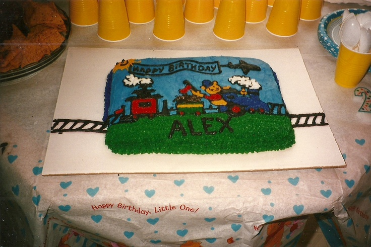 Images Of Birthday Cake For Son : My son s 2nd Birthday Cake Cakes Pinterest