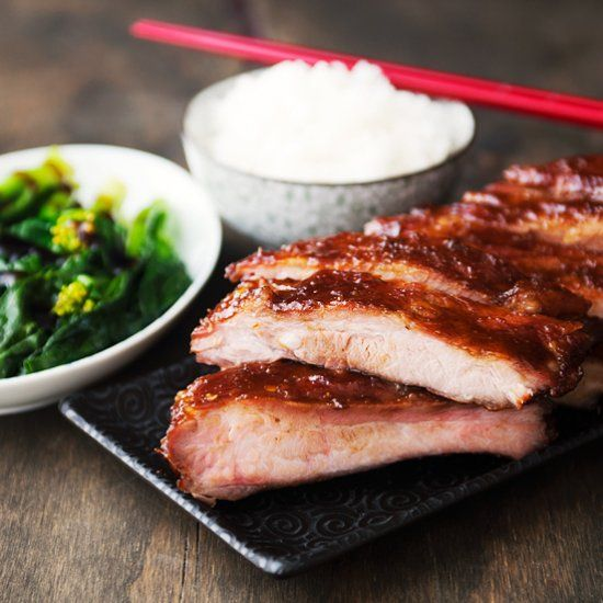 Chinese-style honey hoisin barbecue ribs. | Meat and Poultry ...