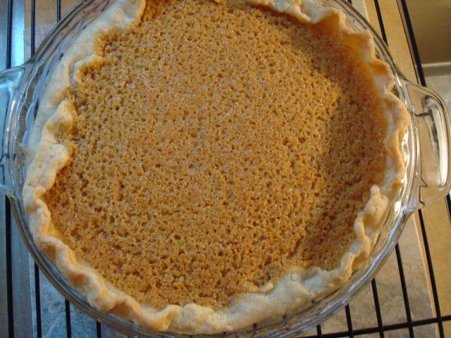 Brown Sugar Buttermilk Pie : Lottie & Doof : A YEAR OF PIES by Ashley ...