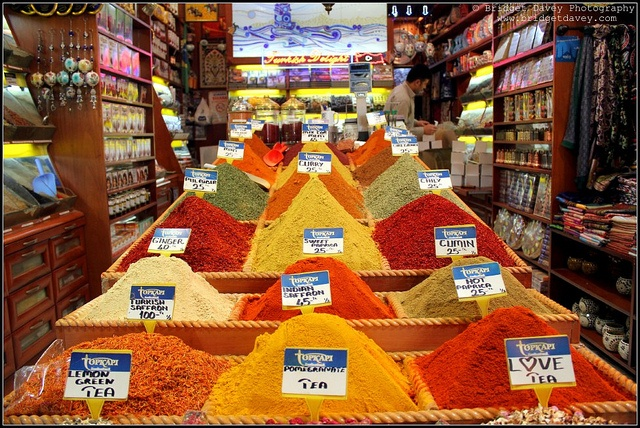istanbul spice bazaar  istanbul/turkey  Pinterest
