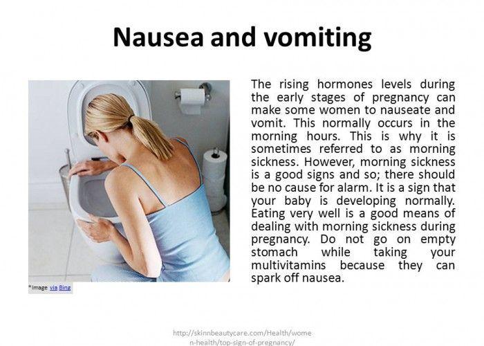 nausea pregnancy
