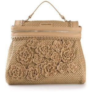 crochet jute bag - Google Search Bolsas Crochet Pinterest