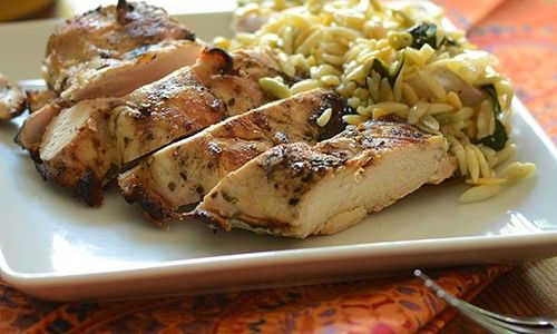 Grilled Greek Chicken Recipe — Dishmaps