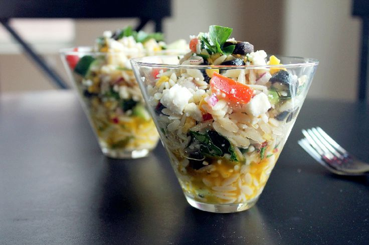 Orzo Pasta Salad with Oven Roasted Corn | Lunch Counter | Pinterest