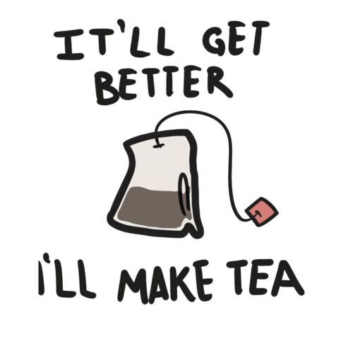 Tea soothes, it revitalizes, it calms, it centers, it reminds you to be happy right now.