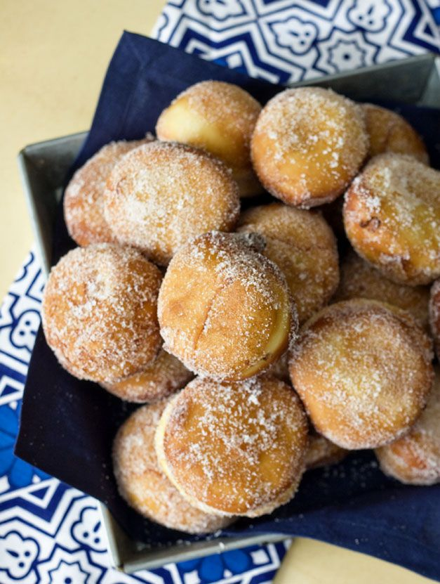 Nutella Filled Donuts | Sweet Treats | Pinterest