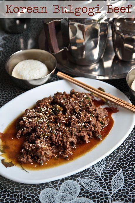 Korean Bulgogi Beef | Dinner | Pinterest
