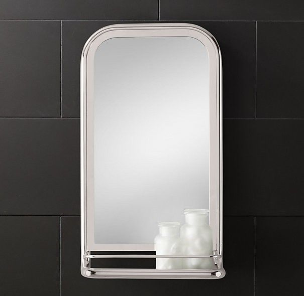 Design Sleuth 5 Bathroom Mirrors With Shelves By