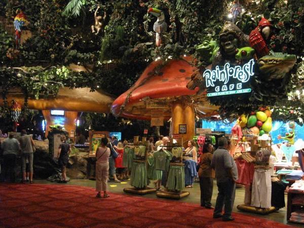 Rainforest Cafe Las Vegas Strip