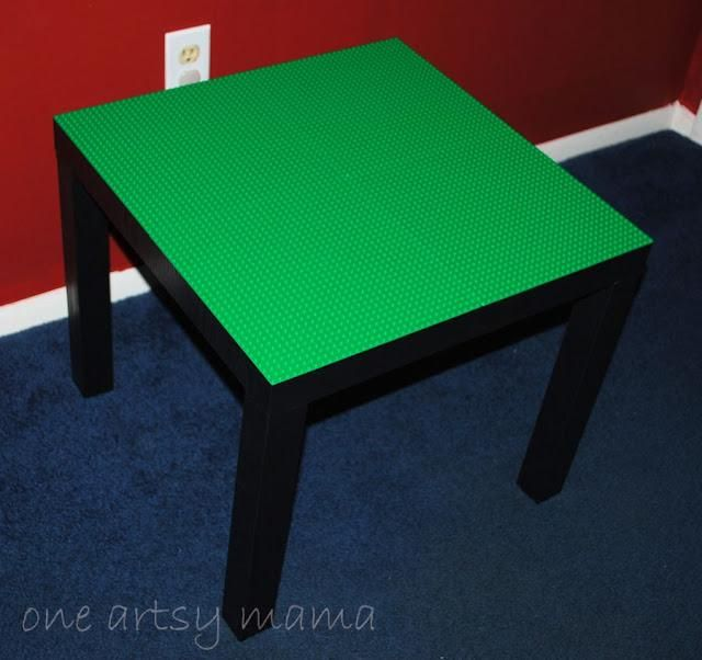 diy lego table instructions