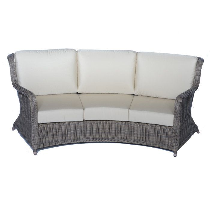 hton outdoor curved sofa for our home