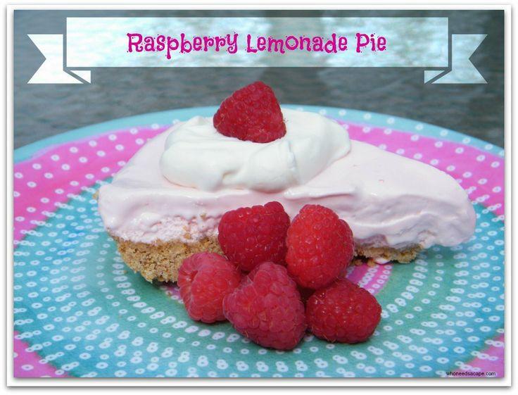 Raspberry Lemonade Pie   Recipe