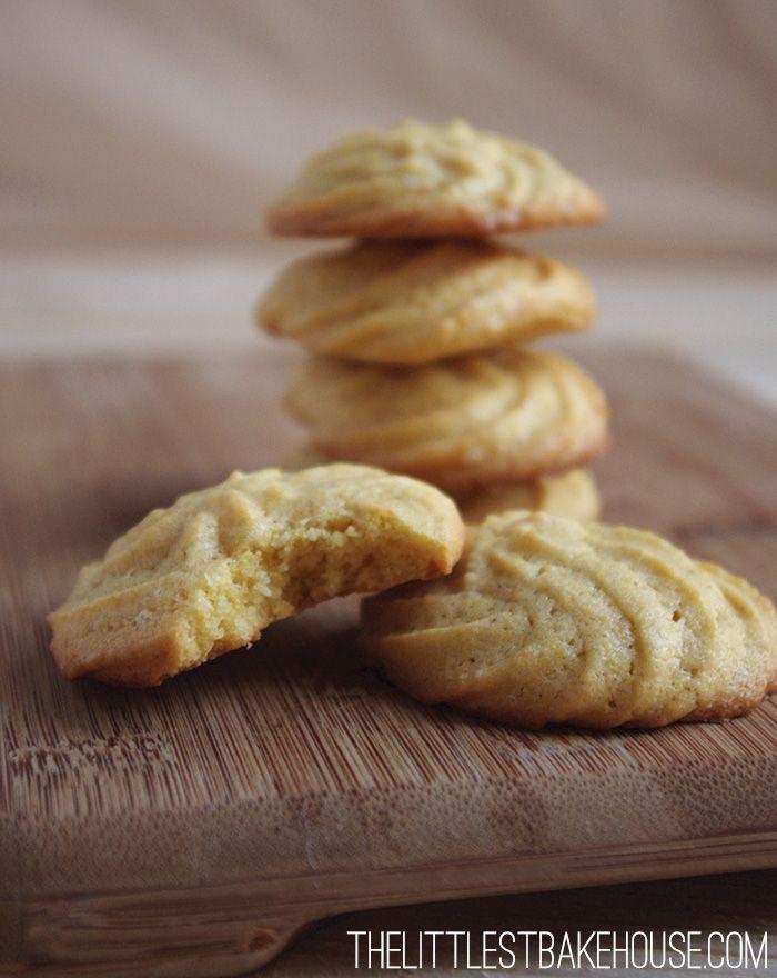 Lightly lemon polenta biscuits | The Littlest Bakehouse