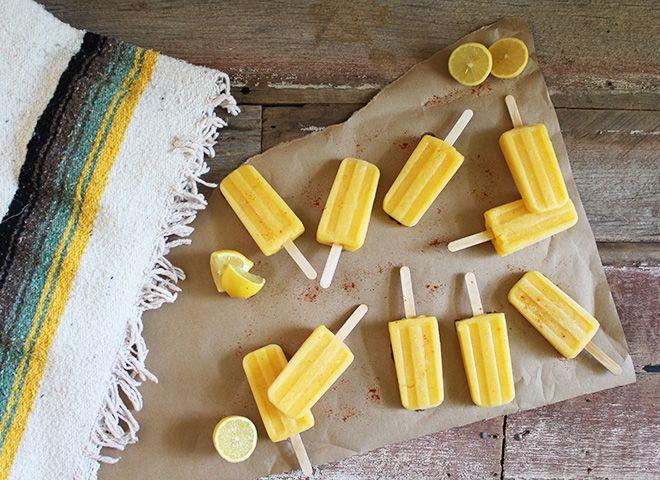 Pineapple Mango Cayenne Paletas (vegan) | Sweet Recipes Just Because ...